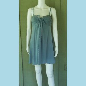 New BCBG Max Azria Seafoam Green Baby Doll Dress 4